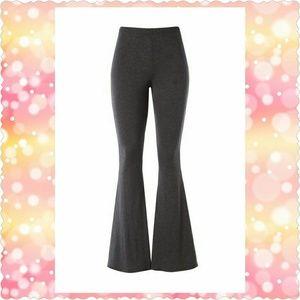 Pants - Charcoal Grey Bell Bottom Pants